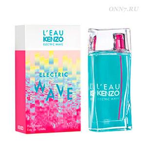 Kenzo Leau Kenzo Electric Wave Pour Femme женские духи туалетная