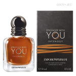 Туалетные духи Giorgio Armani  Emporio Armani Stronger With You Intensely